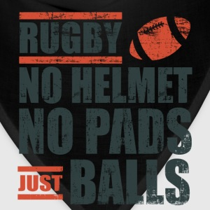 Rugby Just Balls T-Shirts - Bandana