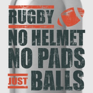 Rugby Just Balls T-Shirts - Water Bottle