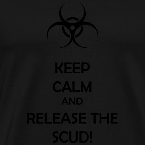 release the scud! - Men's Premium T-Shirt