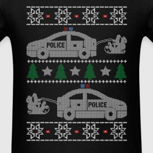 Police Christmas - Men's T-Shirt