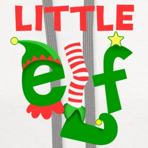 Little Elf Baby & Toddler Shirts - Contrast Hoodie