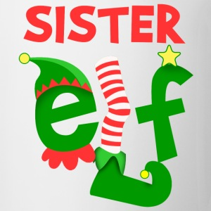 Sister Elf Women's T-Shirts - Coffee/Tea Mug