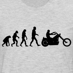 Biker Evolution chopper T-Shirts - Men's Premium Long Sleeve T-Shirt