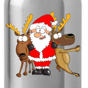 Santa and his Friends Long Sleeve Shirts - Water Bottle