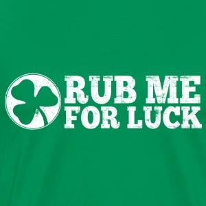 Rub Me For Luck Hoodies - Men's Premium T-Shirt