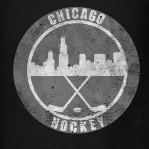 Chicago Hockey Hoodies - Men's T-Shirt