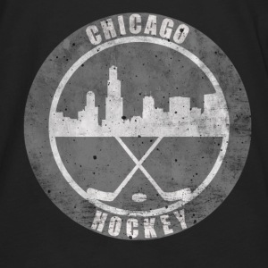 Chicago Hockey Hoodies - Men's Premium Long Sleeve T-Shirt