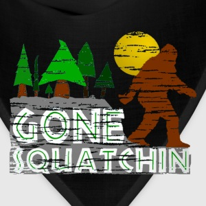 Original Gone Squatchin Baseball Shirt  - Bandana