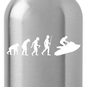 Evolution of Man Jet Ski - Water Bottle