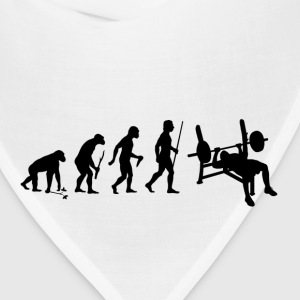 Evolution of Man Bench Press - Bandana