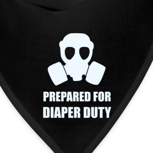 Prepared For Diaper Duty - Bandana