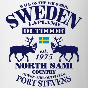 Swedish Lapland T-Shirts - Coffee/Tea Mug