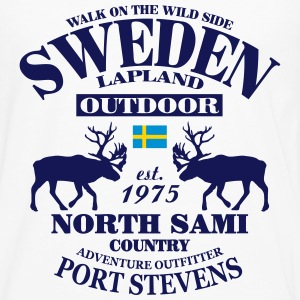 Swedish Lapland T-Shirts - Men's Premium Long Sleeve T-Shirt