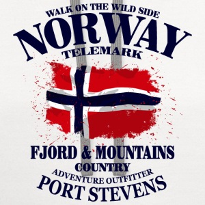 Norway T-Shirts - Contrast Hoodie