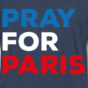 Pray for Paris - Men's Premium Long Sleeve T-Shirt