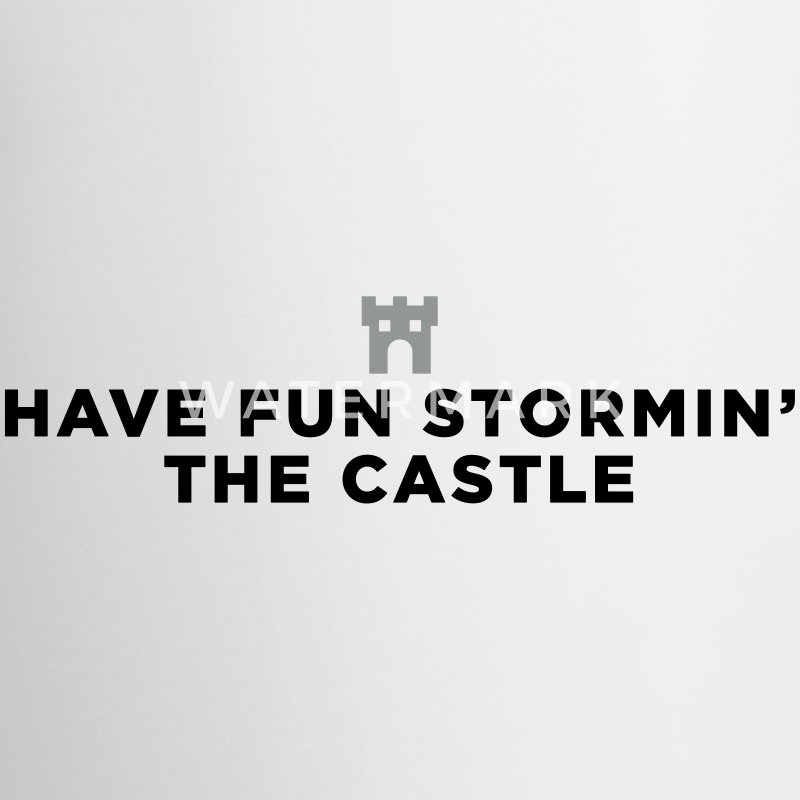 Fun Storming the Castle Mugs & Drinkware - Contrast Coffee Mug