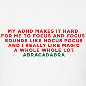 ADHD Magic Abracadabra Long Sleeve Shirts - Men's T-Shirt
