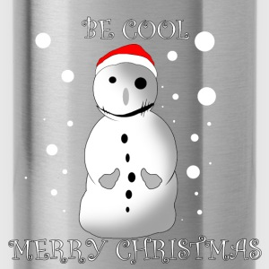Cool Snowman - Water Bottle