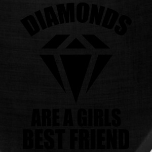 Diamonds Are A Girls Best Friend Women's T-Shirts - Bandana
