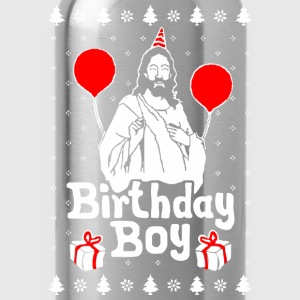 Birthday Boy Jesus Christmas - Water Bottle