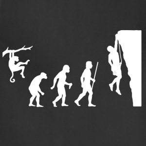 Evolution of Man and Rock Climbing - Adjustable Apron