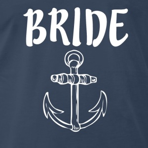 Bride with Anchor - Men's Premium T-Shirt