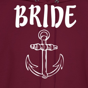 Bride with Anchor - Men's Hoodie