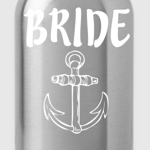 Bride with Anchor - Water Bottle