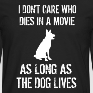 As Long As The Dog Lives - Men's Premium Long Sleeve T-Shirt