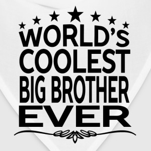 WORLD'S COOLEST BIG BROTHER EVER Hoodies - Bandana