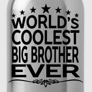 WORLD'S COOLEST BIG BROTHER EVER Hoodies - Water Bottle