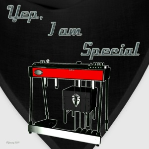 I'm Special - Pedal Steel Guitar T-shirt - Bandana
