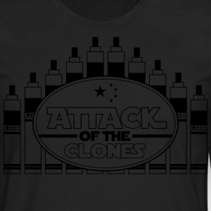 Attack of the Clones - T-Shirt - Men's Premium Long Sleeve T-Shirt