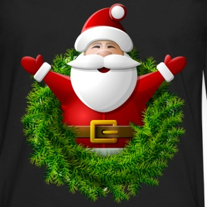 Santa Claus New Year Christmas Xmas 18 - Men's Premium Long Sleeve T-Shirt