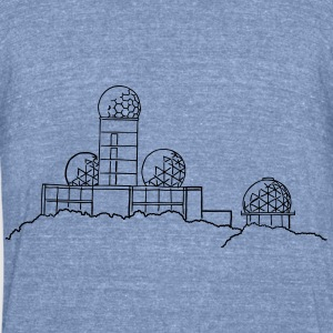 Listening station Berlin Long Sleeve Shirts - Unisex Tri-Blend T-Shirt by American Apparel