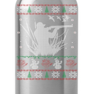 Duck Hunting Christmas - Water Bottle