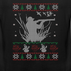 Duck Hunting Christmas - Men's Premium Tank