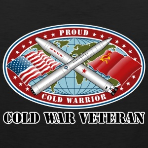 Proud Cold Warrior Cold War Veteran - Men's Premium Tank
