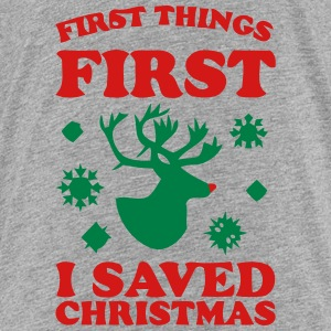 I SAVED CHRISTMAS Sweatshirts - Toddler Premium T-Shirt