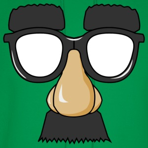 Funny Mask With Glasses - Men's Hoodie