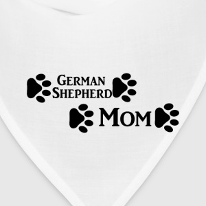 german shepherd mom Women's T-Shirts - Bandana