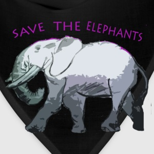 Save the Elephants  - Bandana