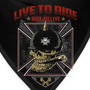 Live To Ride Ride To Live - Bandana