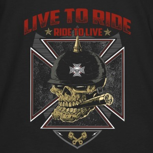 Live To Ride Ride To Live - Men's Premium Long Sleeve T-Shirt