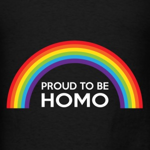 Proud To Be Homo LGBT Bags & backpacks - Men's T-Shirt