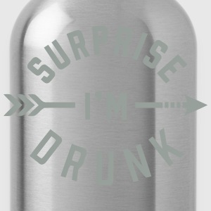 SURPRISE I'M DRUNK Hoodies - Water Bottle