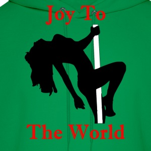 Joy To The World - Red - Men's Hoodie
