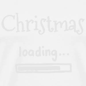 CHRISTMAS IS LOADING Polo Shirts - Men's Premium T-Shirt