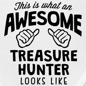 awesome treasure hunter looks like T-SHIRT - Bandana
