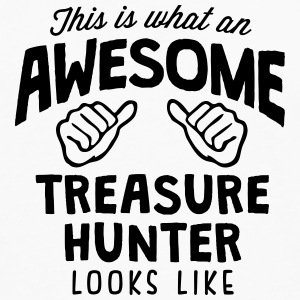 awesome treasure hunter looks like T-SHIRT - Men's Premium Long Sleeve T-Shirt